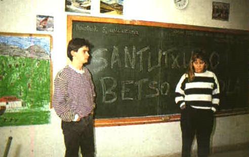 Santutxuko bertso eskola 1991
