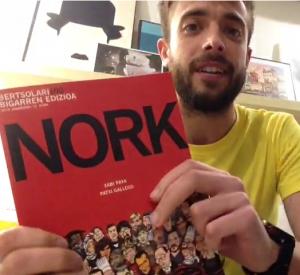 """""""NORK"""" komikia Artefaktua saioan"""