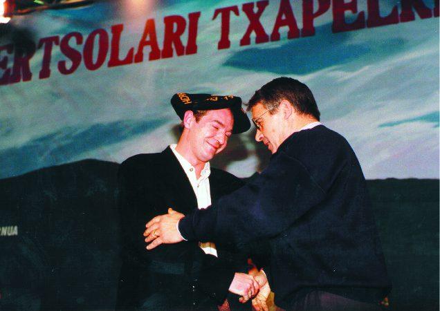 Txapelketen  historia:  1993.  Joxerra  Garzia