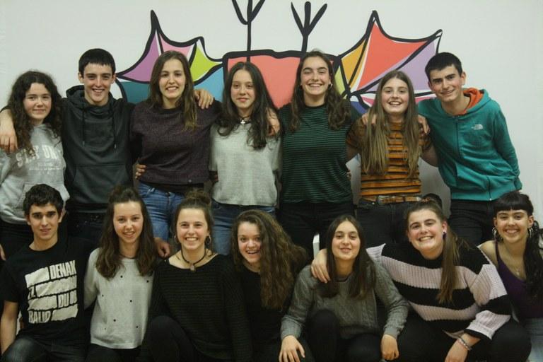 Xabat Illarregi garaile 2019ko Nafarroako Eskolarteko Txapelketan